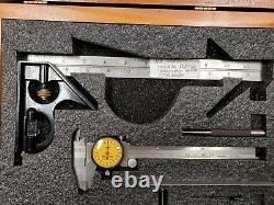 Starrett Apprentice Tool Set In Wooden Box (See Details) a-zz