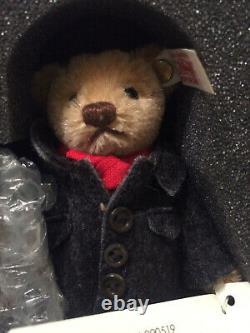 Steiff Bear-Marklin #94343 Limited Edition Train Set, wooden Box with COA. RARE