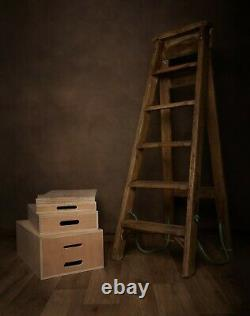 Studio Photography Posing Apple boxes blocks complete set nested