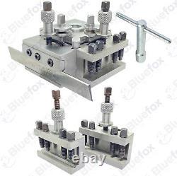 T63 Quick Change Tool Post Set Colchester Bantam 25mm Capacity Wooden Box