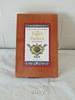 Tarot Of Prague By Baba Studios Limited Edition Wooden Box Set
