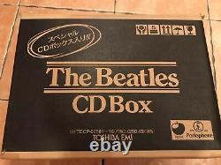 The Beatles 16 Japan Cd Wooden Box Set TOCP-50501/16