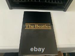 The Beatles Wooden Roll Top CD complete box (CD's not included)
