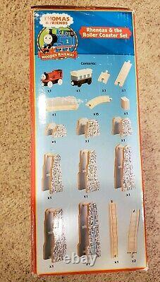 Thomas & Friends Wooden Rheneas & the Roller Coaster Set New In Box
