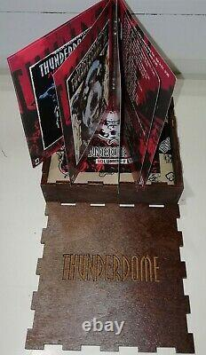 Thunderdome Box 01, 02, 03, 04 (Wooden Box) (Numbered, limited 25 copies) sealed