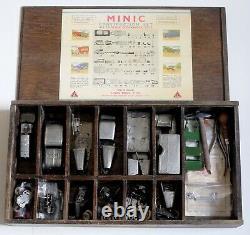 Triang / Minic (construction Set No 1) Pre War (in Original Wooden Box)