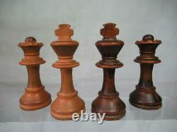 VINTAGE CHESS SET CHAVET TOURNAMENT K 3.5 inch AND BRANDED BOX