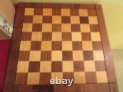 Vintage Allan Troy Chess Set-LARDY/DRUEKE set, Board, Box, &6monographs 3/4 4/30