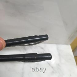 Vintage Porsche Design Pen Set In Original Wooden Box! Fountain & Ballpoint Pens