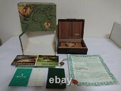 Vintage Rolex 18038 Day-Date President 71.00.04 FULL SET watch box case 335453