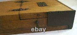 Vintage Winchester Auger Bit Set 9 Winchester Brace Bits in Original Wooden Box