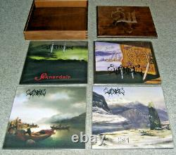 WINDIR The Sognametal Legacy (8 LP Deluxe Wooden Boxset, Limited & Numbered)