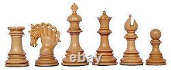 Westminster Series Luxury Staunton 4.25 Box wood & Ebony Wood Chess Set
