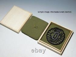 Wooden Tsuba Box & Cushion 10 Pieces Set Made in Japan for Antique Collector
