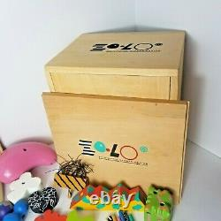 ZOLO ZOLO Zo-lo Set Higashi Glaser Design 1988 In Wooden Box Moma Very Rare
